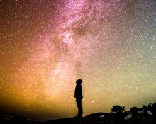 Gazing at the Milky Way