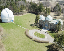 DDO Dome and Administration Building