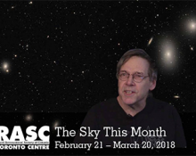 The Sky This Month February 21 - March 20, 2018