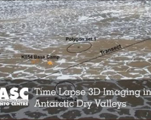 Time Lapse 3D Imaging in the Antarctic Dry Valleys
