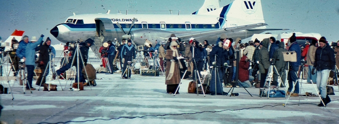 1979 Total Solar Eclipse at Gimli Airport
