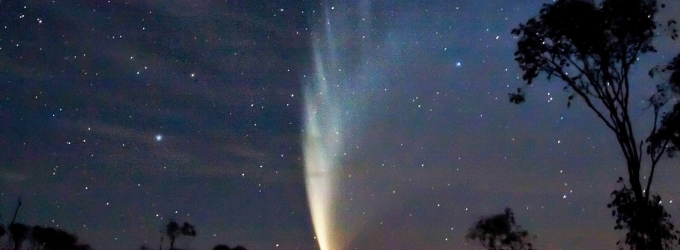 Comet P1 McNaught (Source: Wikipedia)