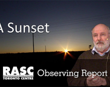 """Observing Report on """"A Sunset"""""""