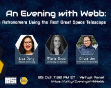 An Evening with Webb