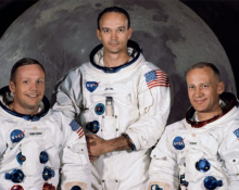 Apollo 11 - Neil Armstrong, Michael Collins and Buzz Aldrin