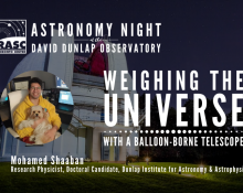 Weighing the Universe With a Balloon-Borne Telescope