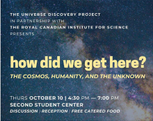 How Did We Get Here? The Cosmos, Humanity and the Unknown