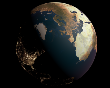 Life of the Earth (2019). Rendering by Simon Clemo