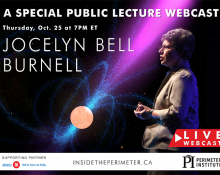 Jocelyn Bell Burnell: A special public lecture webcast