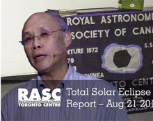 RASC-TO Total Solar Eclipse Expedition Report Aug 21st 2017