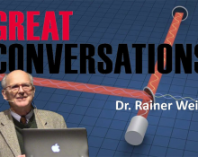 """Dr. Rainer Weiss """"Explore the Universe with Gravitational Waves"""""""