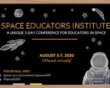 Space Educators Institute Conference 2020