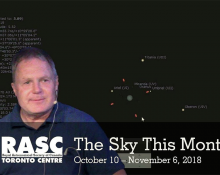 The Sky This Month Oct 10 - Nov 6, 2018
