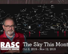 The Sky This Month Oct 9 - Nov 12, 2019