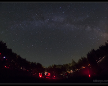 2012 Annual Algonquin Star Party at Mew Lake in Algonquin park. Photo by Bill Longo, RASC Member